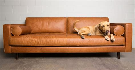 leather sofa tan tan brown leather sofa italian leather article sven