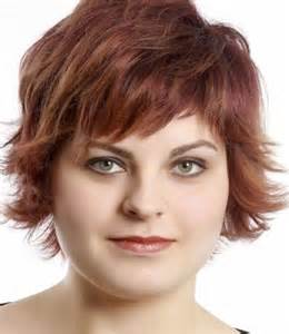 haircuts to flatter heavy short beautiful hairstyles for round face