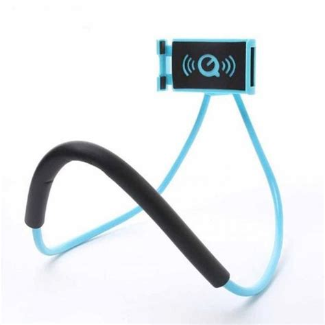 Lazy Neck Holder Smartphone Stand Mount Holder Hp Leher lazy neck phone holder changing products
