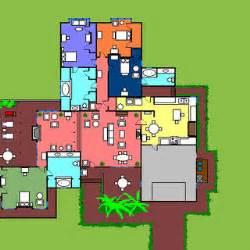 The Golden Girls Floor Plan 6151 Richmond Street Golden Girls Wiki Fandom Powered