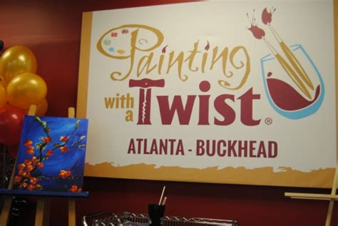 paint with a twist buckhead painting with a twist grand opening in buckhead