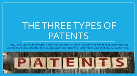 idea design studio reviews idea design studio explains the three types of patents