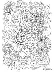 free printable flower coloring pages for adults 11 free printable coloring pages