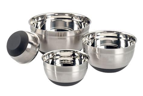 Quality Mixing Bowl Waskom Stainless Akebonno 22 Cm Cs09122 german non skid mixing bowls miinox wares