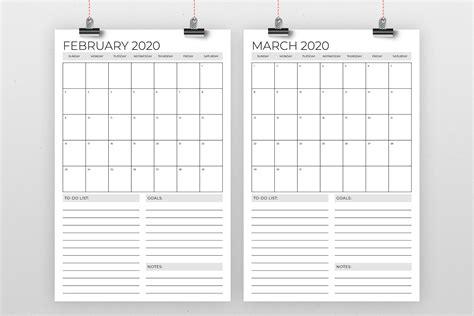 vertical      calendar template  running  foxes thehungryjpegcom