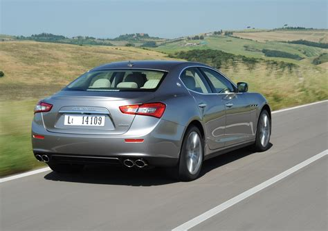 How Much Is The Maserati Ghibli by Maserati Ghibli Saloon 2013 Running Costs Parkers