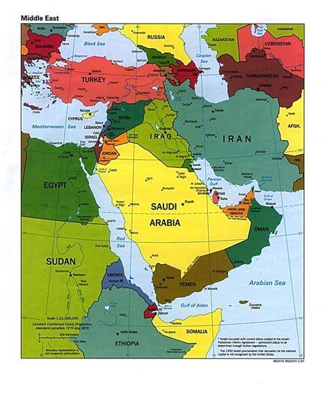 middle east map suez canal stumme karte israel