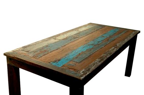 Boat Dining Table And Chairs Reclaimed Boat Wood Dining Table Bali Sourced Rustic Furniture Pinterest Boats Woods