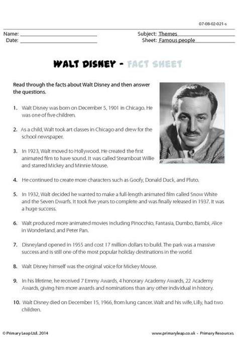 biography comprehension activity ks2 multiple choice comprehension worksheets uk