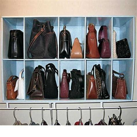 How To Organise Bags In Closet by 33 Storage Ideas To Organize Your Closet And Decorate With
