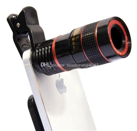 phone telephoto lens monoculars fixed focus phone 8x zoom optical magnification for