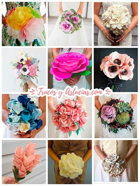 imagenes de flores reciclables 44 flores de papel y fieltro para hacer con manualidades