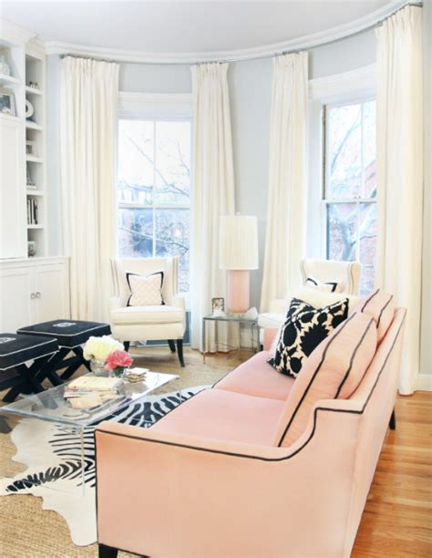 pale pink living room pink delight beautify your living room by adding a pink sofa
