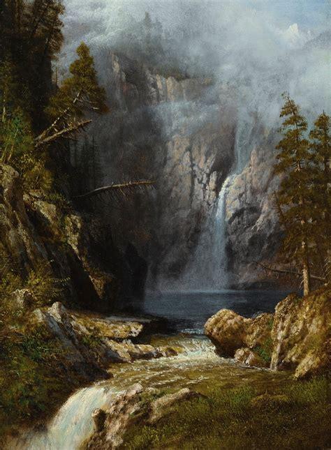 bierstadt albert  western wa landscape sothebys