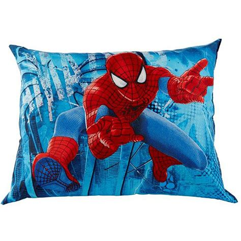 spiderman in bed marvel spider man pillow walmart com