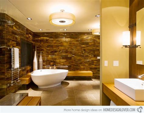 yellow and brown bathroom 15 charming yellow bathroom design ideas home design lover