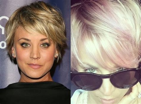what movie did kaley cuoco cut her hair for celebrity gossip weekly beyonce taylor swift kanye
