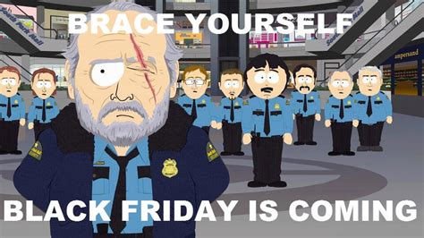 South Park Meme Episode - black friday south park