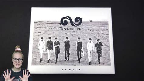 Infinite 2nd Album Repackage Be Back unboxing infinite 인피니트 2nd korean studio album repackage