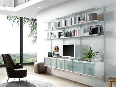 mobile libreria a parete socrate home libreria a parete by caimi brevetti design