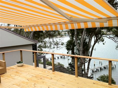 central coast awnings retractable folding arm awnings in central coast sydney