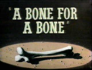looney tunes title card template a bone for a bone