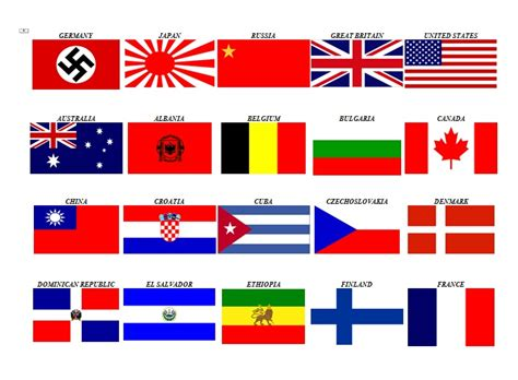 flags of the world during ww2 pin ww2 flags axis and alliespng on pinterest