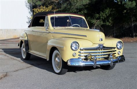 Wheels Retro Ford De Luxe Back To The Future 1948 ford deluxe convertible wheels auction shows