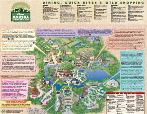 printable animal kingdom map 2015 animal kingdom map free disney animal kingdom map