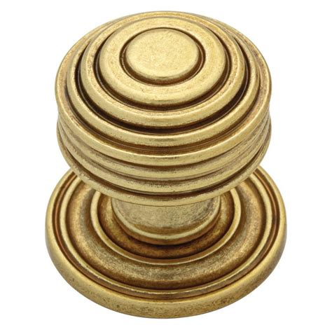 martha stewart living cabinet knobs martha stewart living 1 1 16 in bedford satin brass