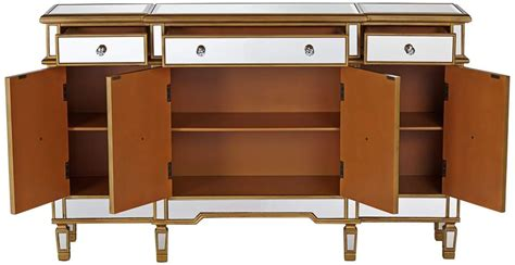 gold mirrored bedroom furniture gold and mirror mirrored console cabinet dresser table
