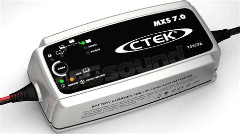lade e proiettori ctek mxs 7 0 caricabatterie caricabatterie ed