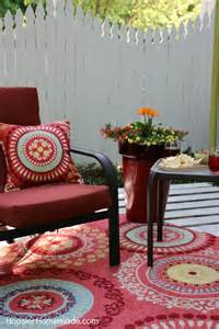 Scroll Rug How To Build A Wood Pallet Deck Hoosier Homemade