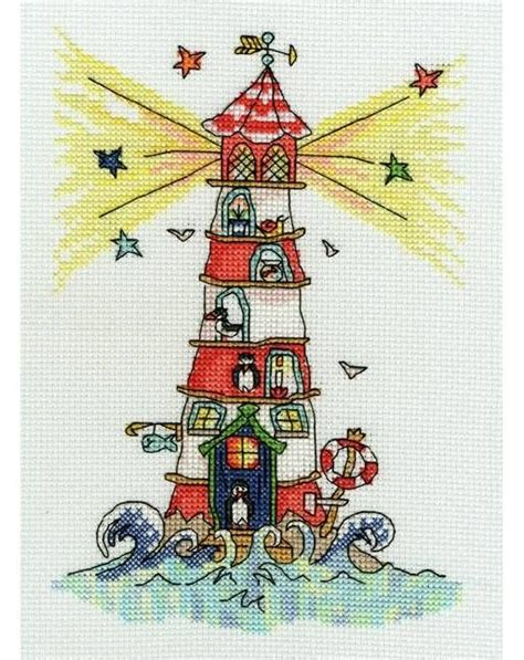 264 best cross stitched lighthouses images on pinterest 17 best images about punto de cruz temas marinos on