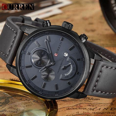 Jam Tangan Pria Mk curren jam tangan analog pria mk2 black black jakartanotebook