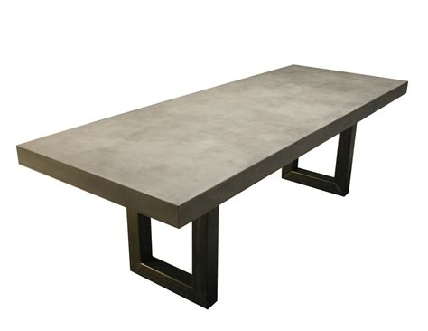 custom concrete table hand crafted zen concrete table by trueform concrete
