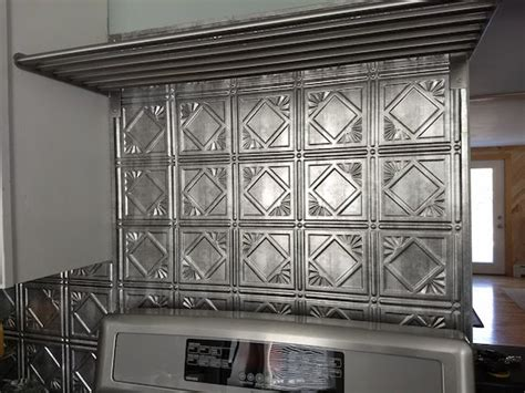 aluminum backsplash kitchen 2018 metal backsplash might be ideal adds texture and pop to a kitchen