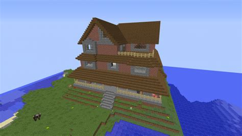 big brick houses big brick house minecraft project