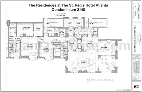st regis residences floor plan st regis residences buckhead now selling final 7 luxury
