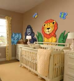 Jungle Nursery Decor Creating The Appropriate And Attractive Nursery Wall Decor Design Home Design Interiors