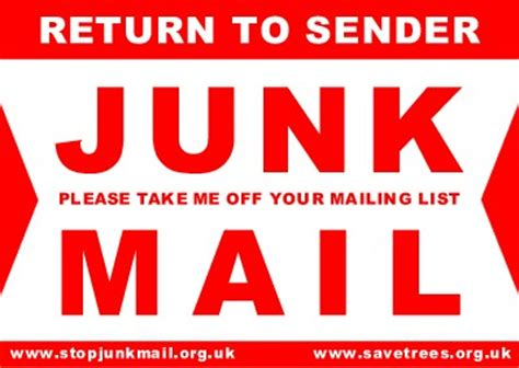 Recycled Labels To Combat Junk Mail green 187 how to stop junk mail in 5 steps