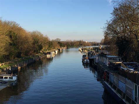boat shop thames teddington lock on the river thames london