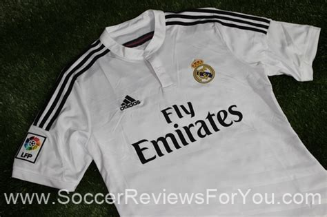 Jersey Real Madrid Hitam 201415 2014 15 real madrid home jersey review soccer reviews for you