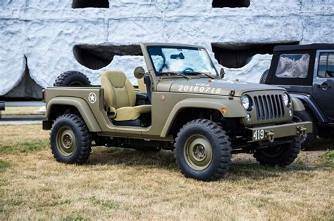 Jeep Concept Jeep Builds 75th Anniversary Salute Concept