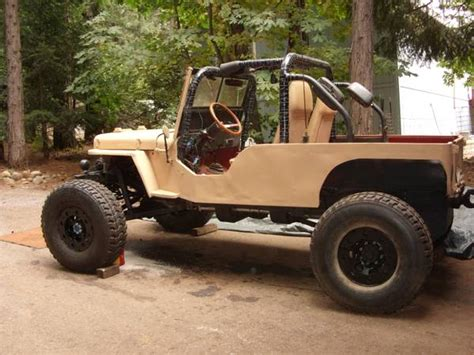 Stretched Willys Jeep Crawler Ewillys