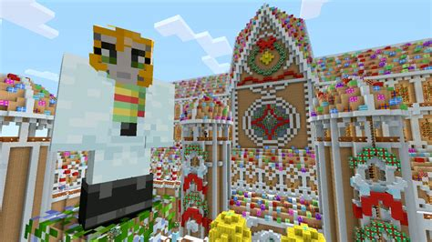 minecraft christmas house minecraft xbox christmas wonderland hunger games