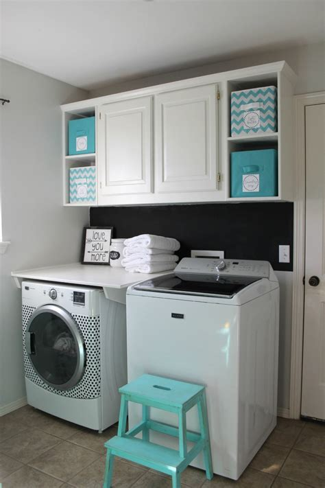Laundry Room Cabinets Diy Laundry Room Makeover For 100