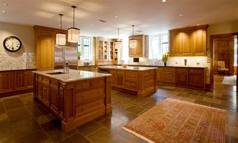 Kitchen Island Seating by Double Island Kitchen John M Reimnitz Architect Pc Jrapc