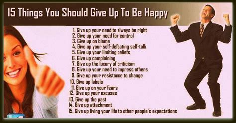 15 things you should give up to be happy daily inspirations for healthy living