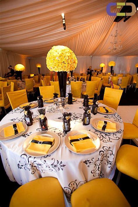 yellow grey white weddings images  pinterest